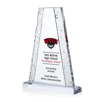 Glacier Tower Acrylic Award