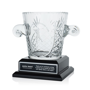 Hospitality Victory Crystal Award Cup