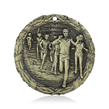 "Cross Country  2"" Activity Medal"
