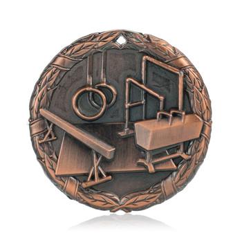 "Gymnastics 2"" Activity Medal"