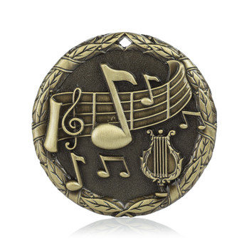 "Music 2"" Activity Medal"