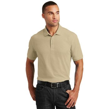 Wheat Core Classic Pique Polo