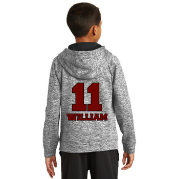 Youth Lacrosse Hoodie Electric