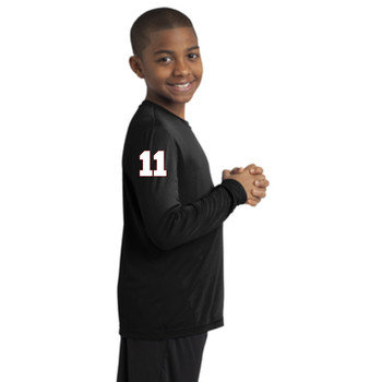 Youth Long Sleeve T Black