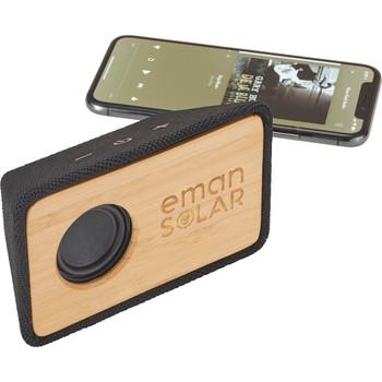 Natural Bamboo Bluetooth Speaker