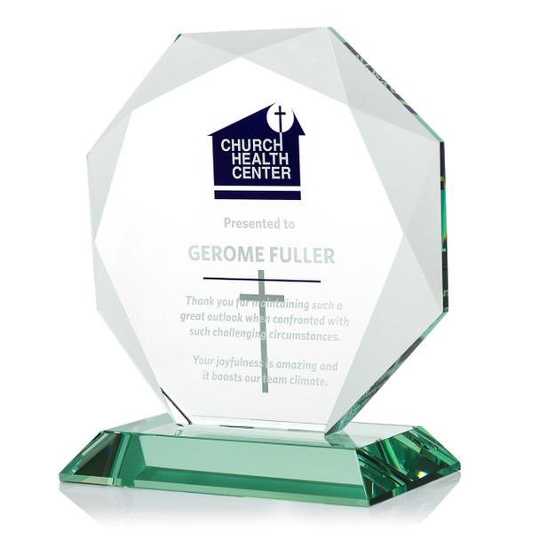 Gem Cut Octagon Award