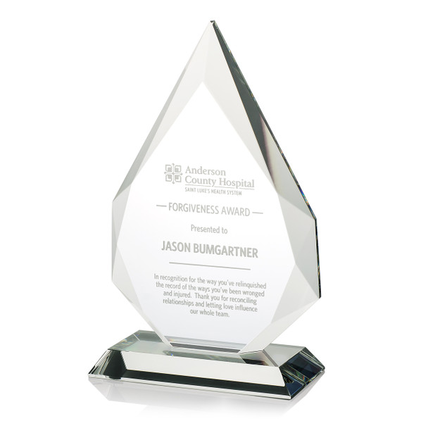 Pinnacle Optical Crystal Award
