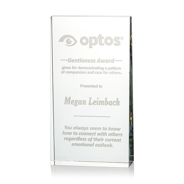 Wedge Optical Crystal Award