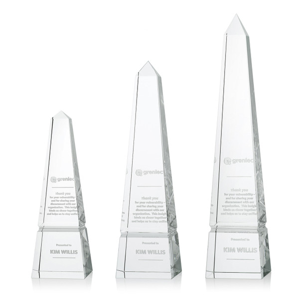 Obelisk Optical Crystal Award