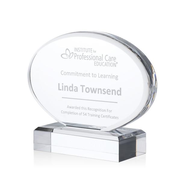 Oval Acrylic Award
