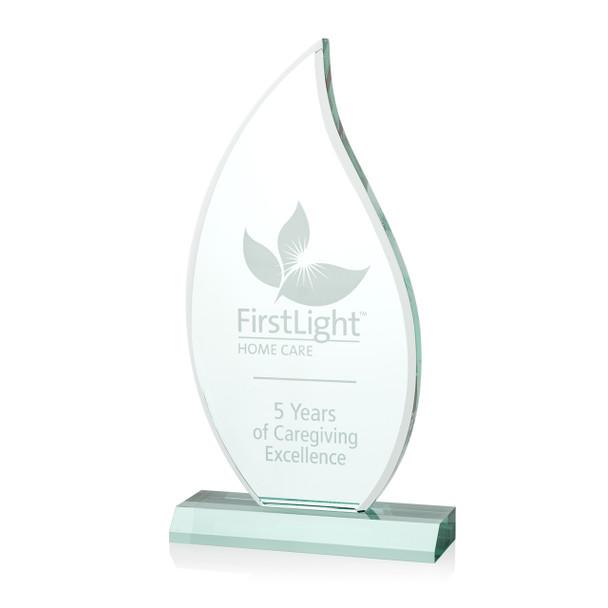 Flame Acrylic Award