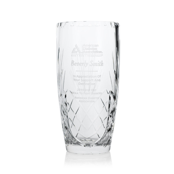 Inspiration Crystal Award Vases