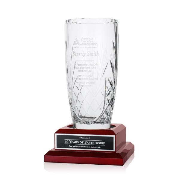 Inspiration Crystal Award Vases