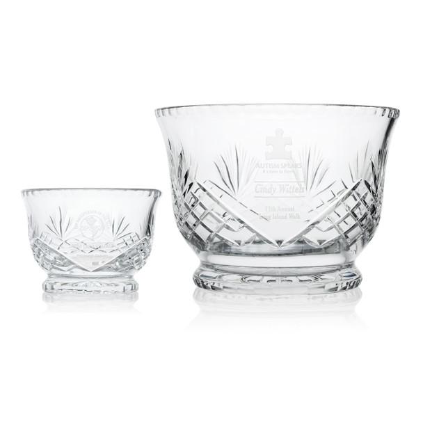 Admiration Crystal Award Bowls