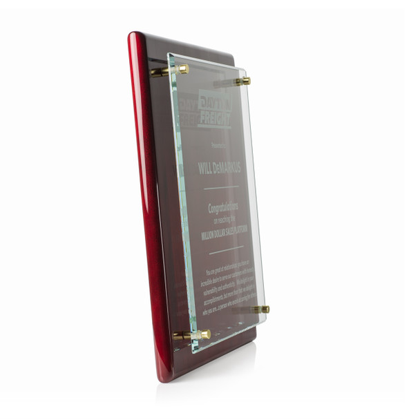 Rosewood Distinguished Award Plaques