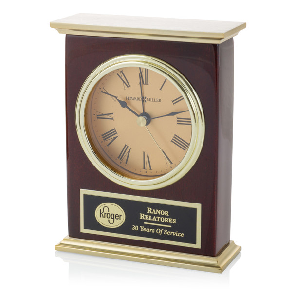 Gold Laurel Clock