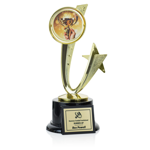 """Shooting Star Series 8 1/2"""" Trophy"""