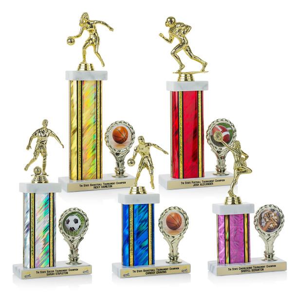 Bravo Plus Series Trophies (5 Sizes)