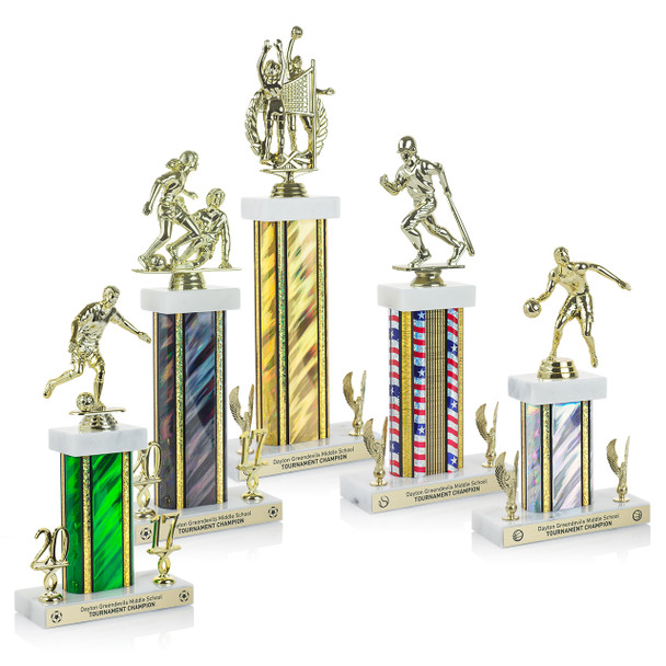 Champion Series Trophies (5 Sizes)