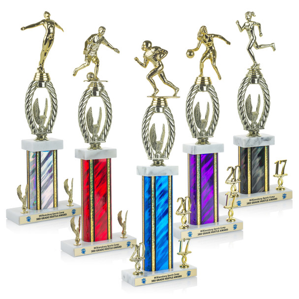 Champion Plus Series Trophies (5 Sizes)