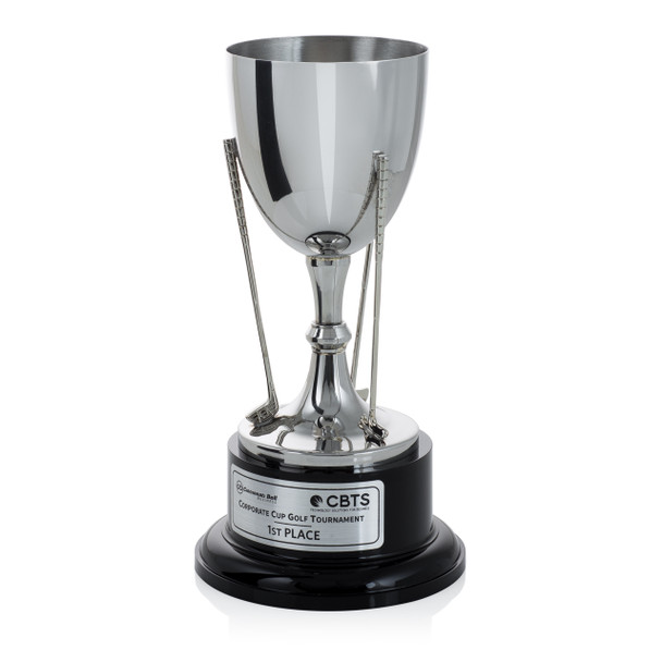 Silver Cup Golf Trophy