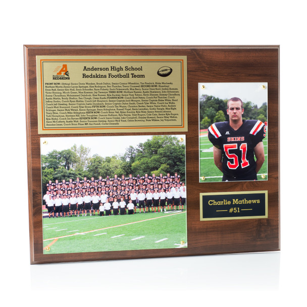 Custom Photo Mount Plaque