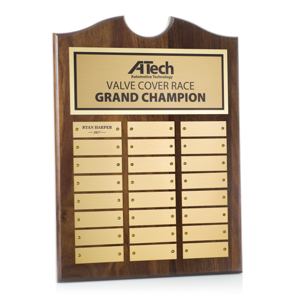 Roster Perpetual Plaques