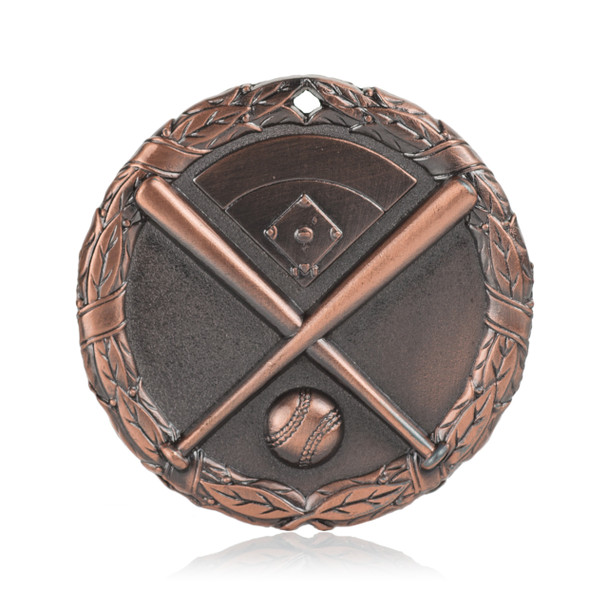 "Baseball 2"" Activity Medal"