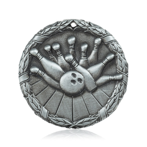 "Bowling 2"" Activity Medal"