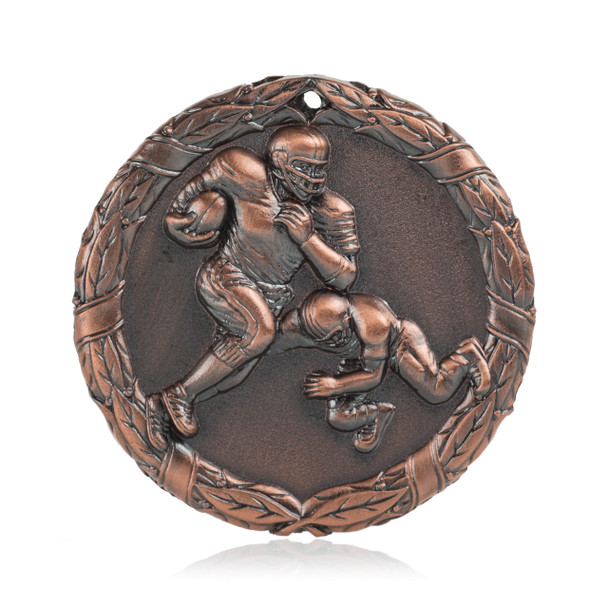 "Football 2"" Activity Medal"
