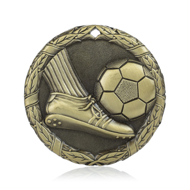 "Soccer Foot 2"" Activity Medal"