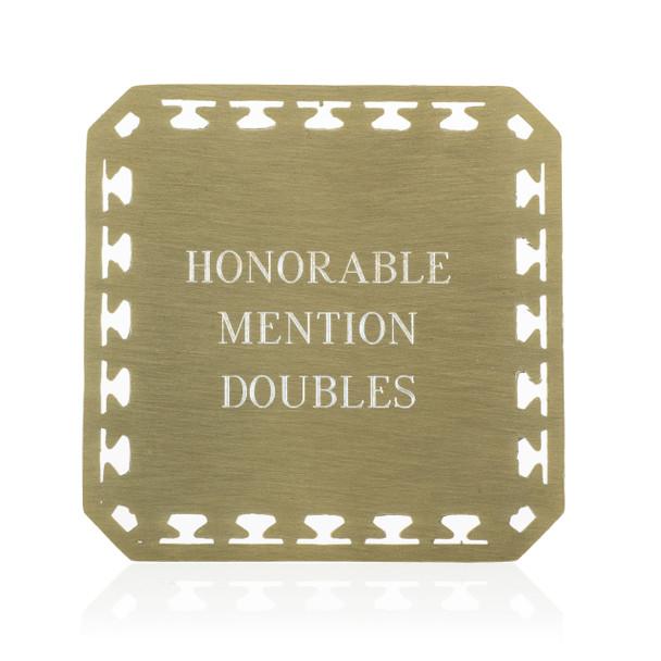 Stars Décor Medal with Custom Emblem