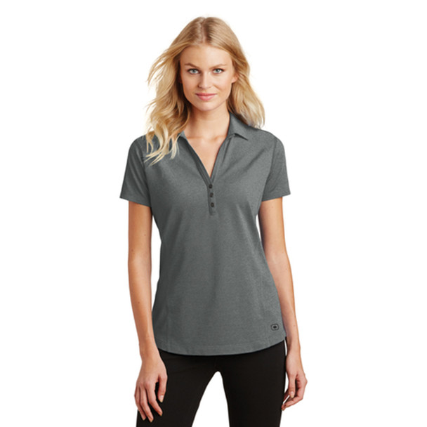 Petrol Grey Ladies OGIO Onyx Polo