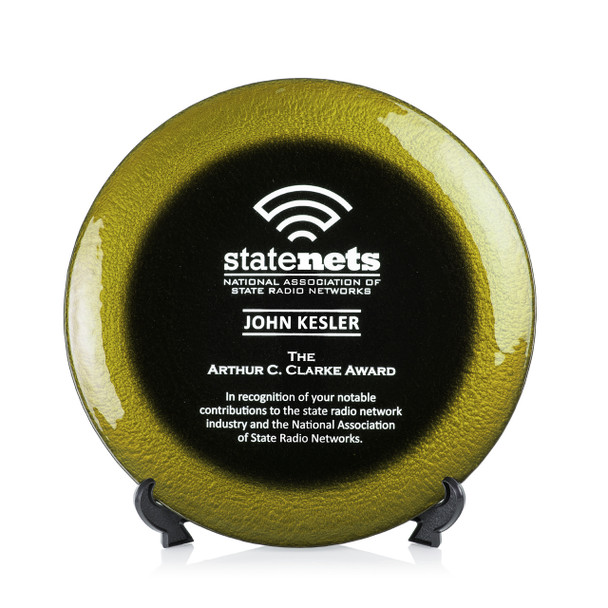 Allure Art Glass Award - Gold