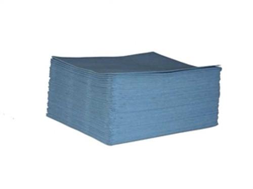 """Blue Spunlace  wipers 17"""" x 26""""  9 Lb."""
