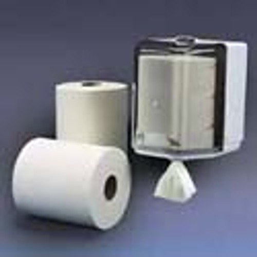 "CENTER FLOW 2 PLY 8.3"" X 11.5"" 600 SHEETS PER ROLL 6 ROLLS PER CASE"