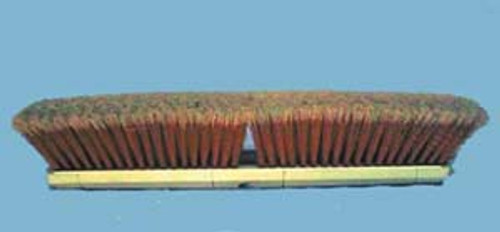 "SWEEP ORANGE 14"" ALL PLASTIC-BLOCK/BRISTLES"