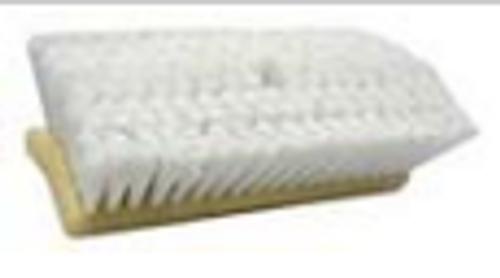 BRUSH BI-LEVEL WHITE FLG 44699