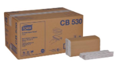 PAPR C-FOLD WHITE CB530 (2400)54/SK