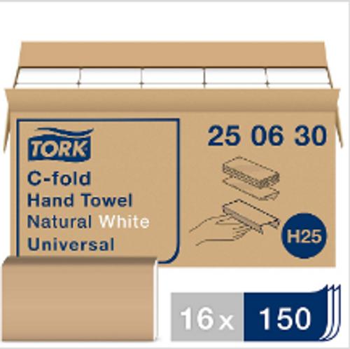 PAPR C-FOLD NATURAL WHITE 250630