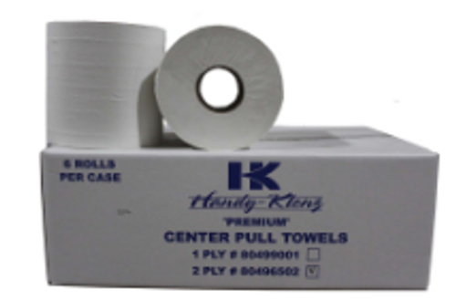 PAPR CENTER PULL 2PLY 600 HK(6)