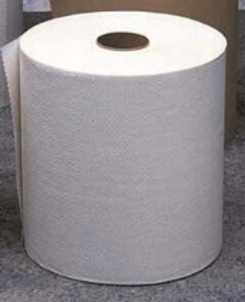 PAPR ROLL TOWEL 625 WHITE (12)