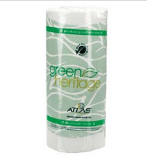 PAPR ROLL TOWEL 86 2PLY (30)GREEN H