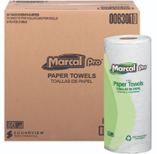 PAPR ROLL TOWEL 70 2PLY MARCALPRO30