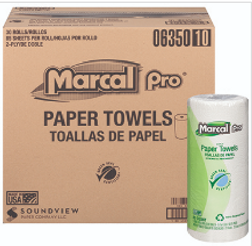 PAPR ROLL TOWEL 85 2PLY MARCALPRO85