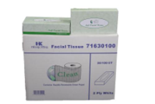 PAPR FACIAL TISSUE 100/2 (30)CLEAN