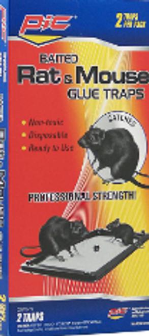 PEST GLUE TRAP RAT/MS 12/PK2 PER/CS