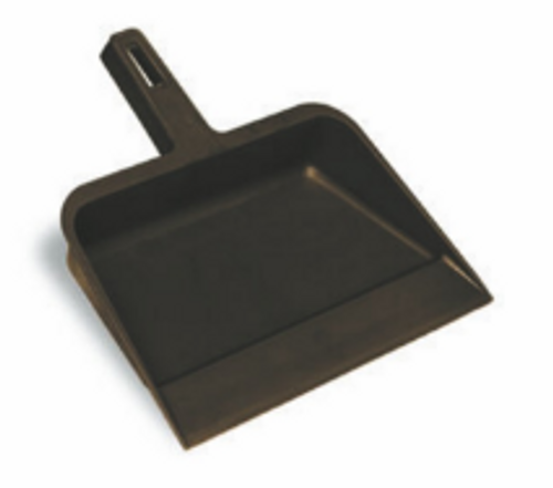 "DUST PAN PLASTIC 12"" BLACK CN712"