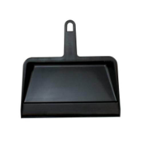 "DUST PAN POLY 12"" BLACK #710"