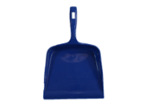 DUST PAN PLASTIC BLUE FLAT N763